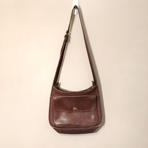 Coach | Vintage Leather Hobo Crossbody Bag